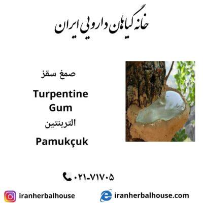 Terpentine Gum