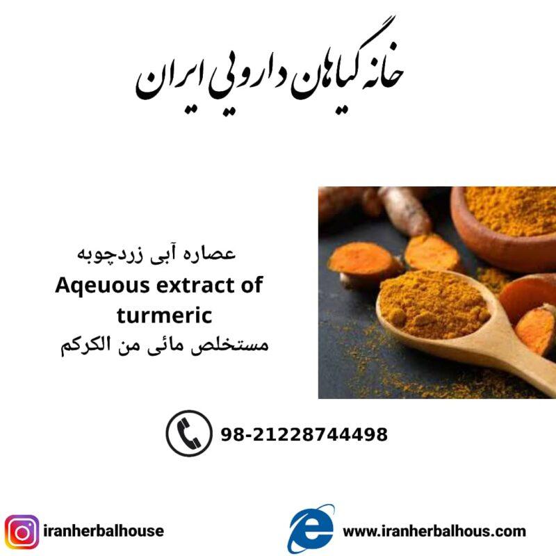 Aqeuous Extract of turmeric