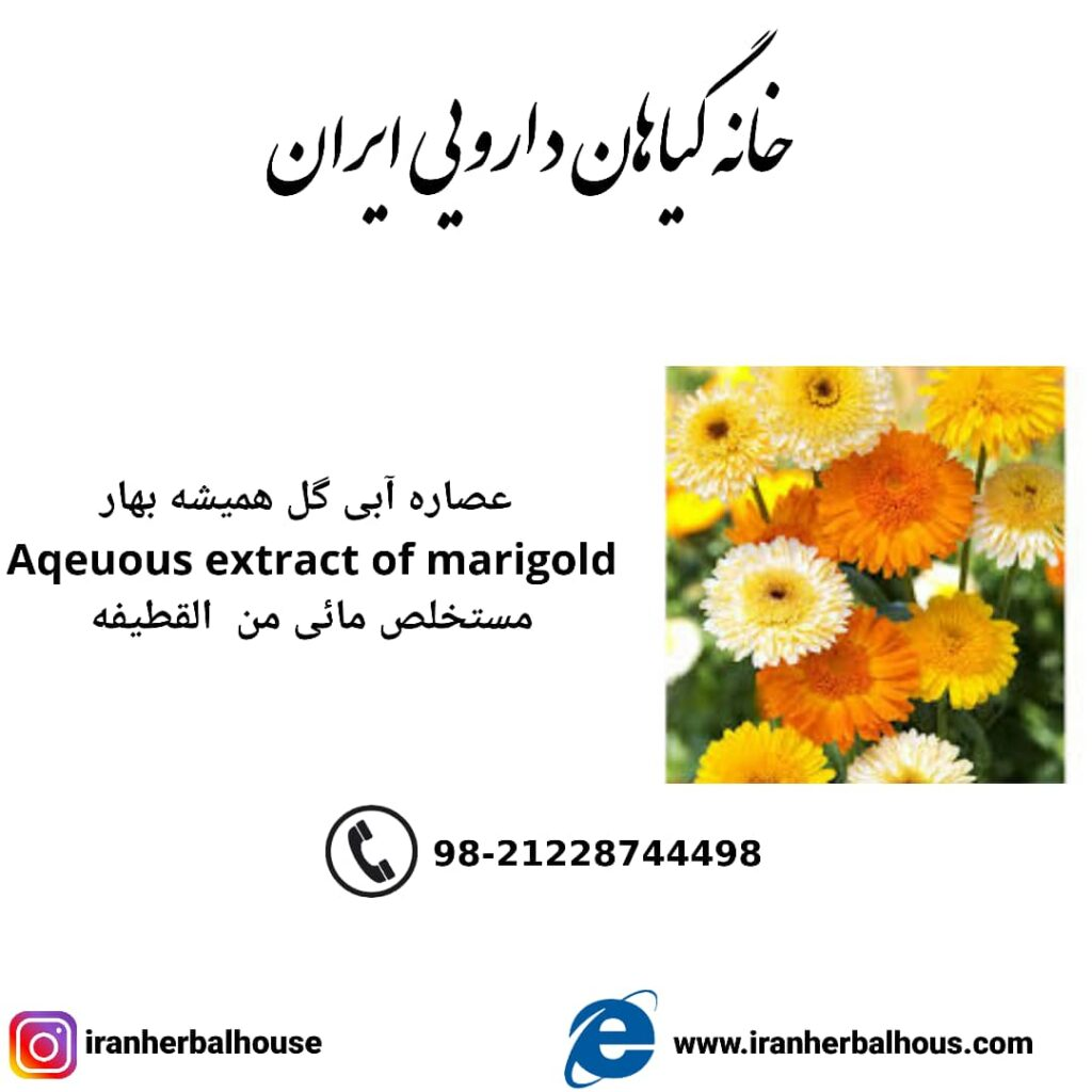 Aqeuous Extract of marigold