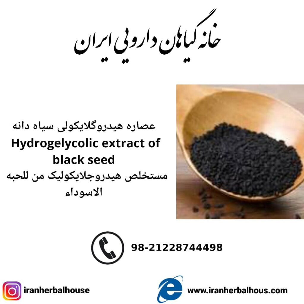 Hydrogelycolic Extract of black seed