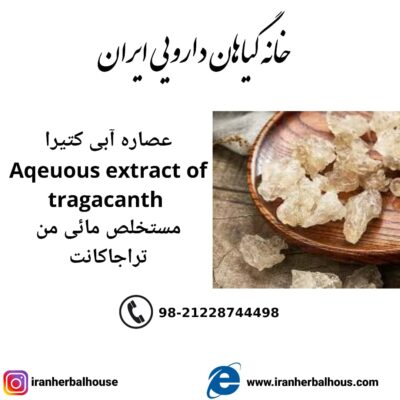 Aqeuous Extract of tragacanth